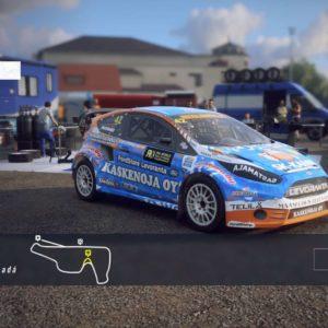 HRX Ford Fiesta Supercar Dirt Rally 2.0 Varikolla
